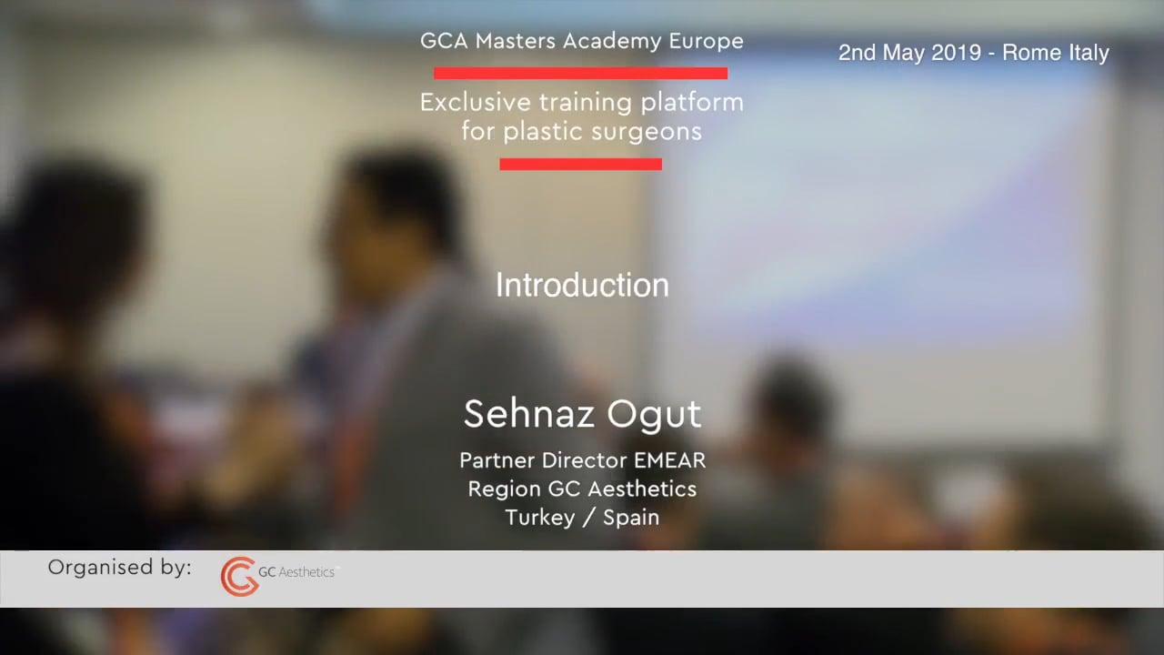Willkommen bei den GCA Academy Masters Rome – Sehnaz Ogut