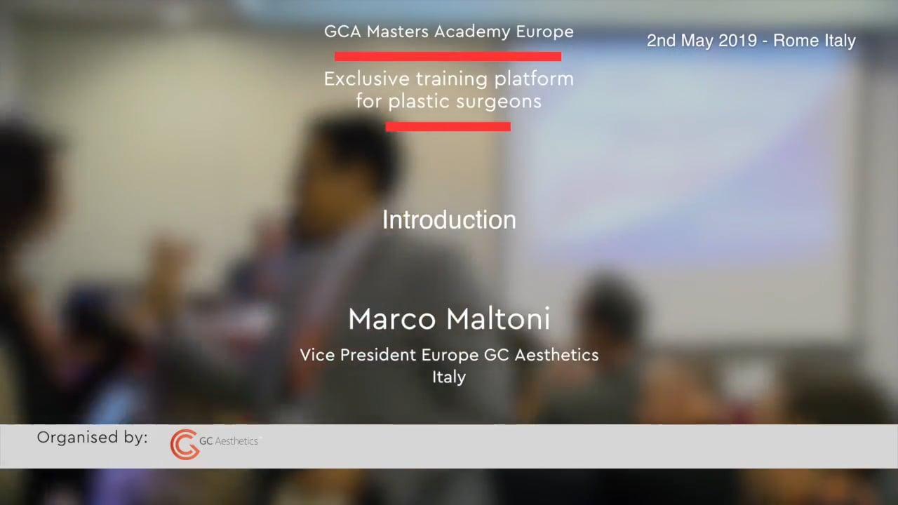 Willkommen bei den GCA Academy Masters Rome – Marco Maltoni