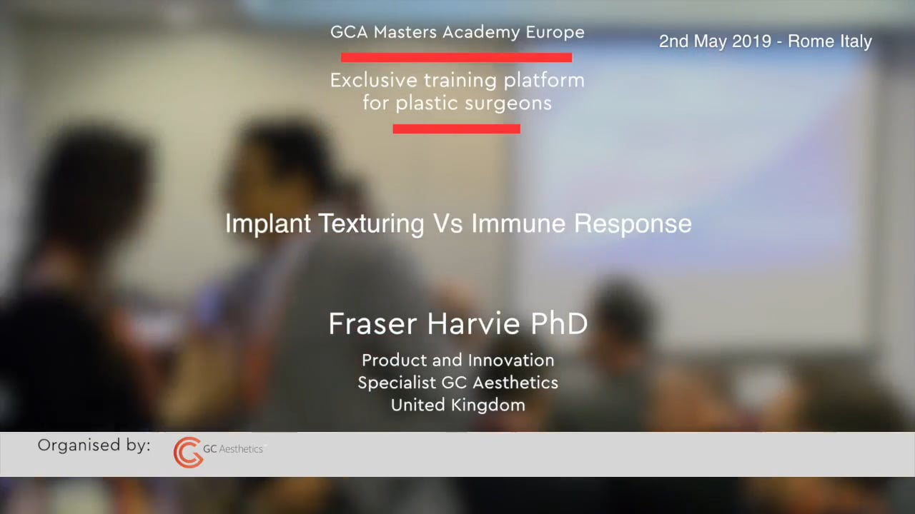 Implantattexturierung vs. Immunantwort von Frasier Harvie Phd