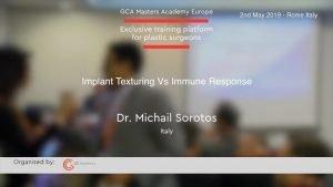 Implantat Texturierung vs. Immunantwort von Dr. Michail Sorotos