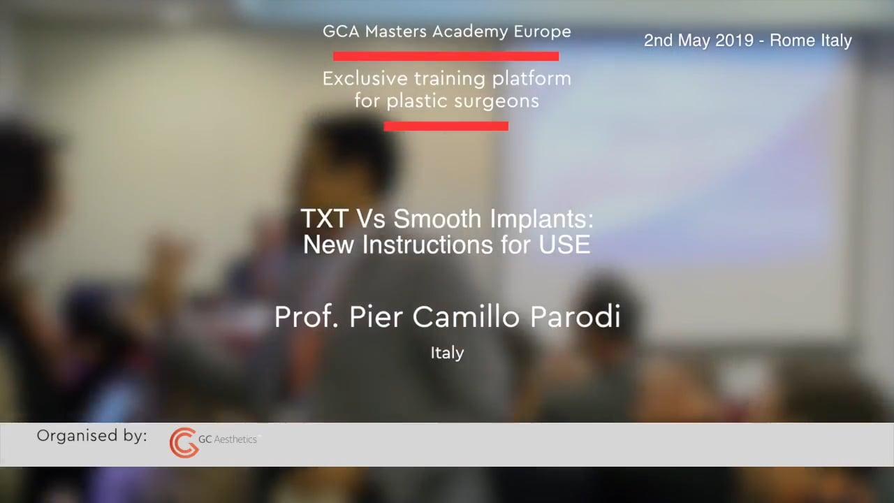 Texturierte vs. glatte Implantate: neue Gebrauchsanweisung von Prof. Pier Camillo Parodi